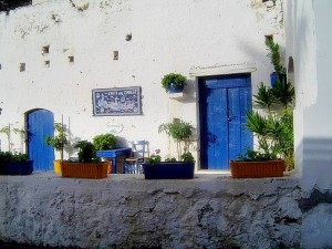 Kutulufari - typowy, grecki domek.