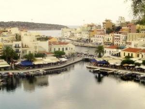 Agios Nikolaos zatoka.