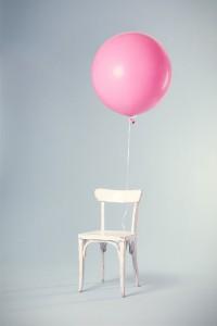 krzesło balon