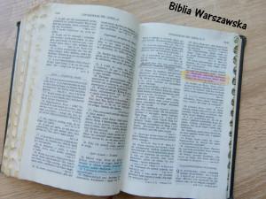 X Biblia X przekłady Biblii X Biblia Tysiąclecia X Biblia Gdańska X Biblia Warszawska