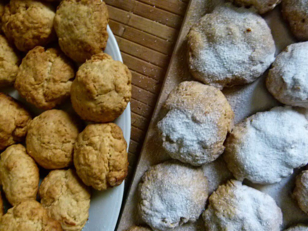 kurabiedes,greckie ciasteczka